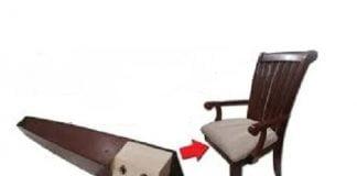 sandalye ayağı tamiri