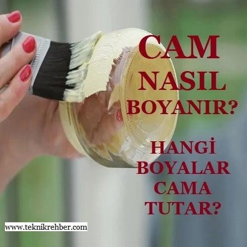 Cam boyama