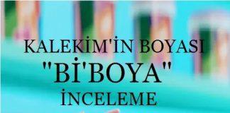 bi'boya yorum