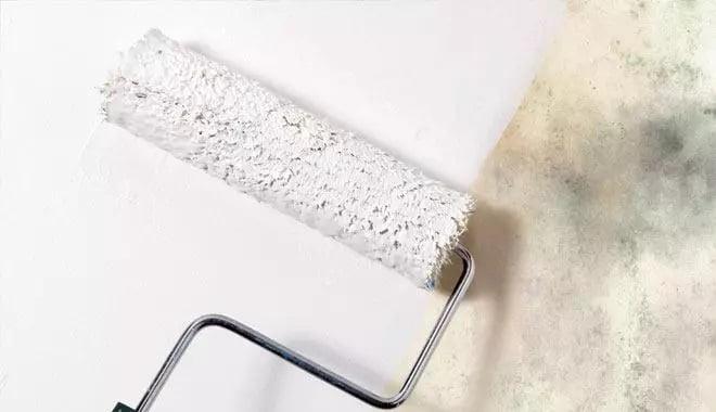 Küf Önleyici Tavan Boyası İle Banyo Tavanı Rutubet Önleme