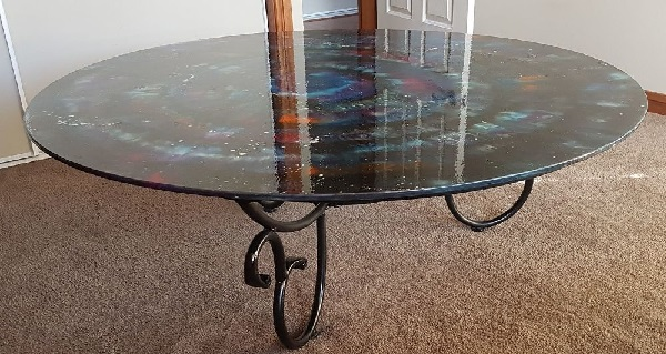 cam masa boyanır mı