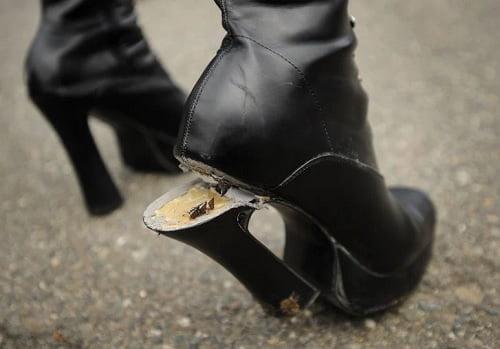 ayakkabı topuğu neyle yapıştırılır
