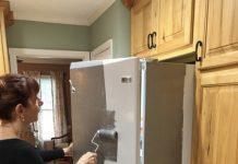 buzdolabı nasıl boyanır