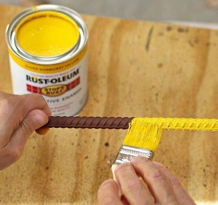paslı demir boyama