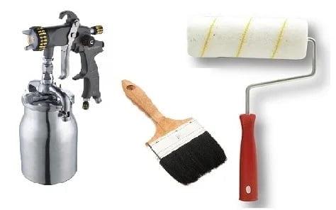 selülozik boya için hangi fırça kullanılır