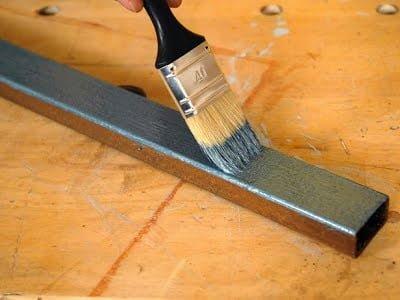yağlı boya ile metal boyama