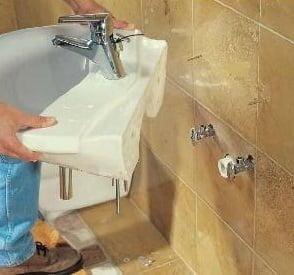lavabo ayağı nasıl takılır