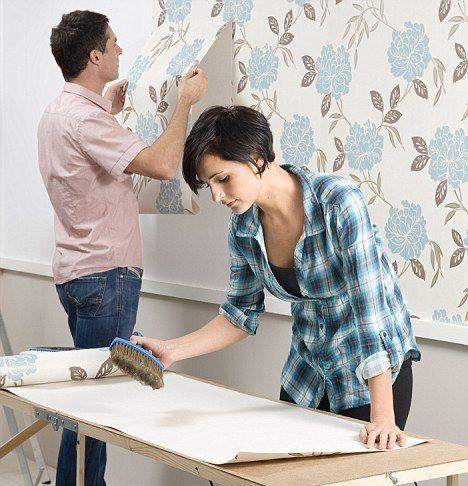 duvar kağıdı yapıştırma