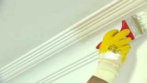 tavan boyası ile kartonpiyer boyanırmı