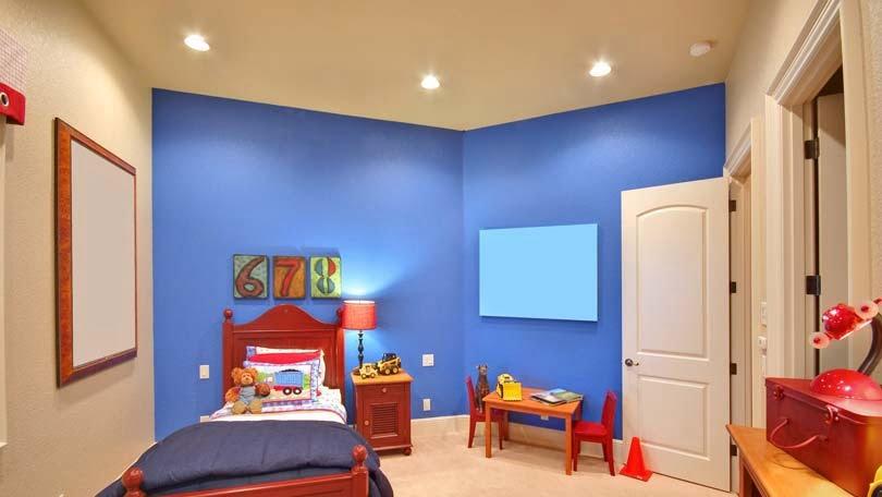 mavi çocuk odası rengi