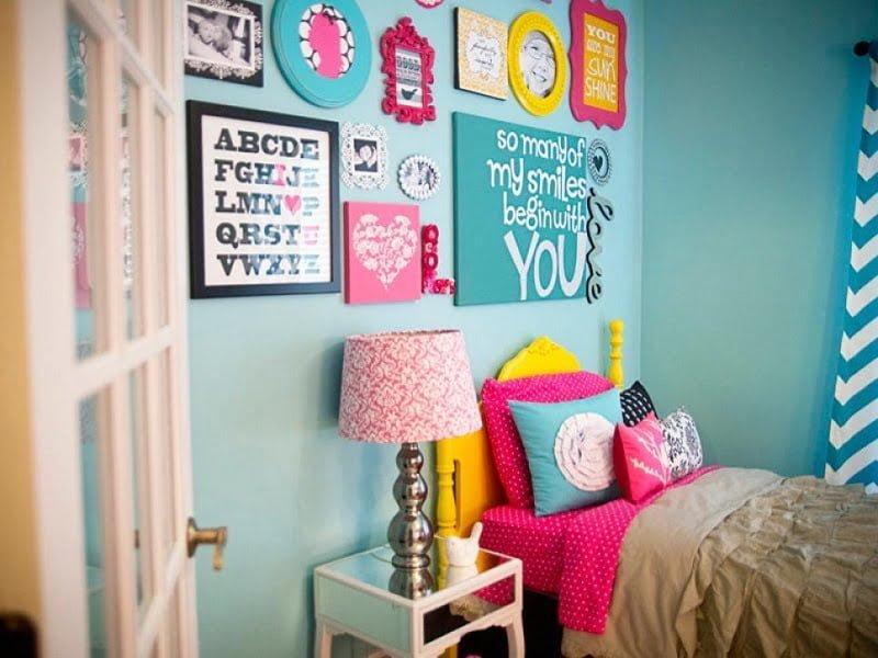 turkuaz çocuk odası rengi