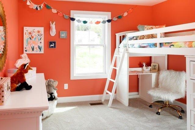 çocuk odası duvar rengi