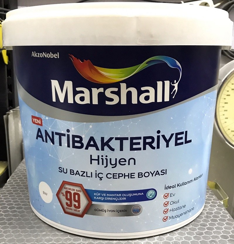 marshall anti bakteriyel boya