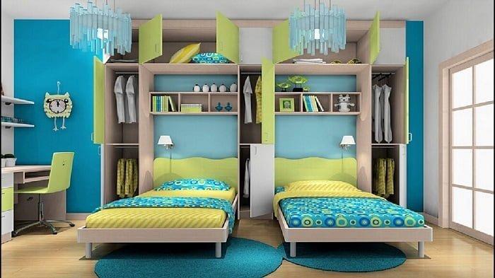 ikiz odası duvar rengi