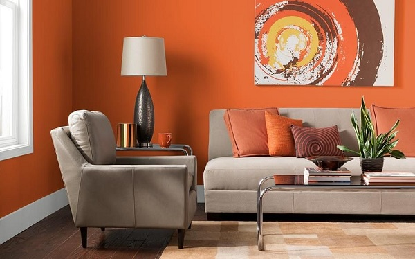 oturma odası için renk tavsiye