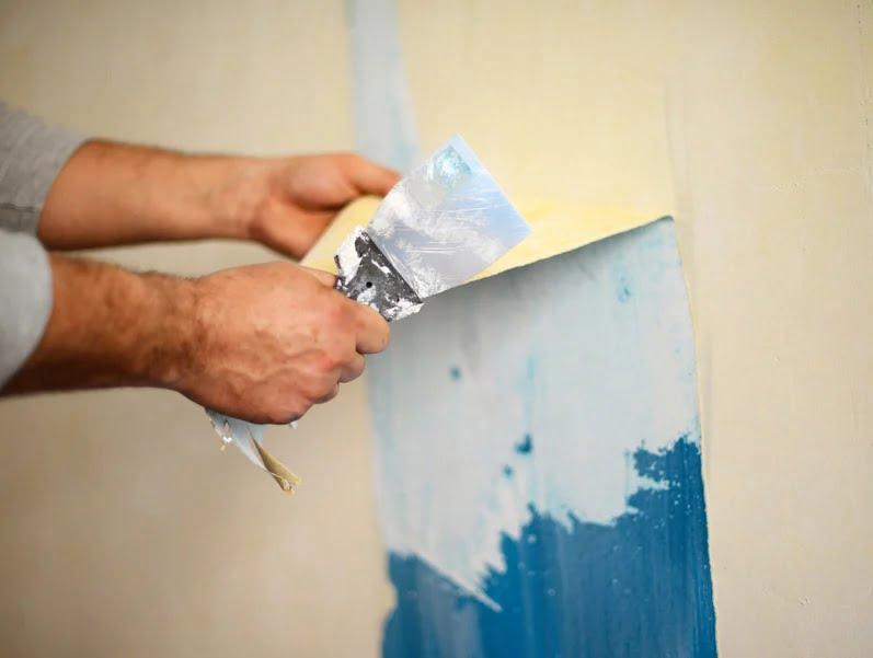 duvardan boya sökme