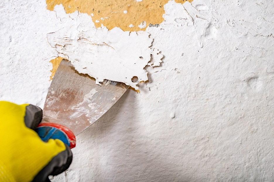 Plastik boya duvardan nasıl sökülür