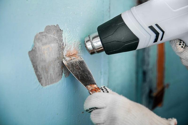 Yağlı boya duvardan nasıl sökülür
