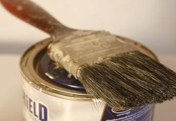 yağlı boya fırçası temizleme