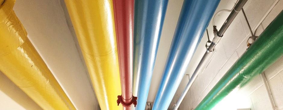 doğalgaz boruları hangi renge boyanır