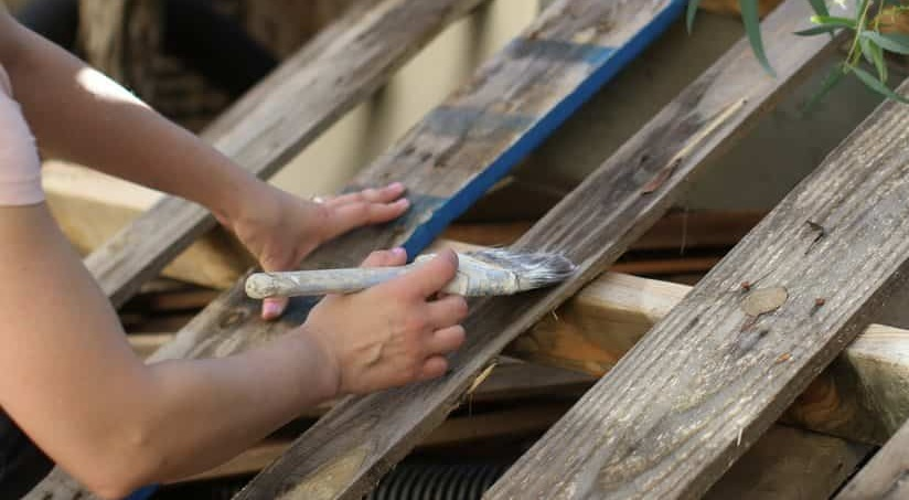 tahta palet boyama nasıl yapılır
