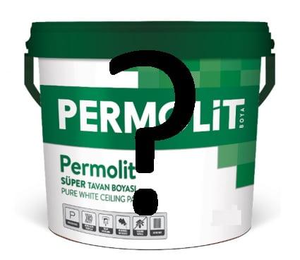 permolit tavan boyası yorumları
