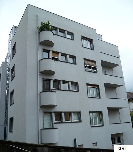 apartman dış cephe boya modelleri
