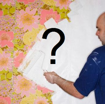 duvar kağıtları boyanır mı