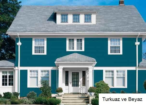 iki katlı ev boya örnekleri