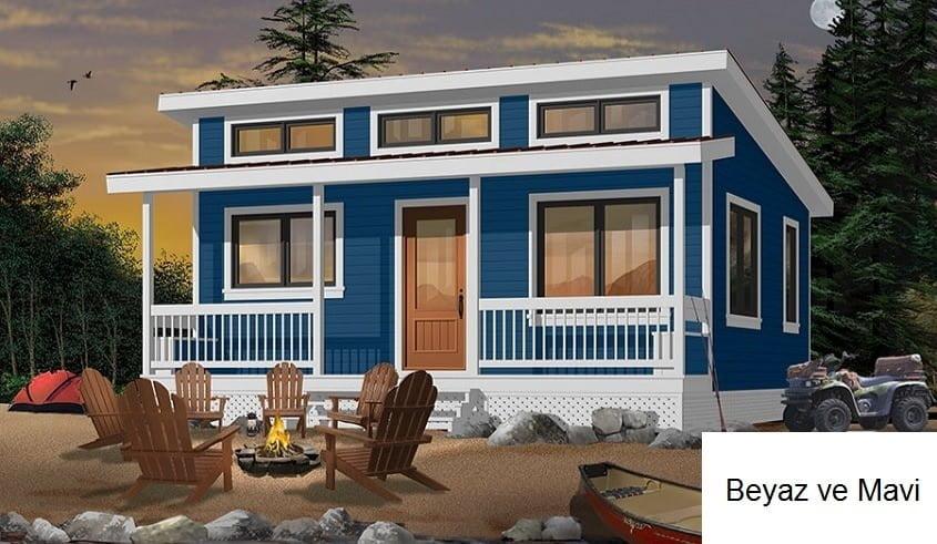 müstakil ev dış cephe boya renkleri
