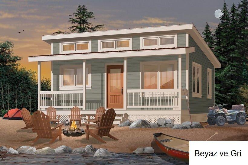 müstakil ev dış cephe boya modelleri