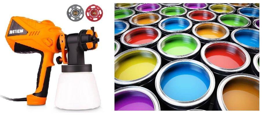 boya tabancası ile hangi boyalar kullanılır