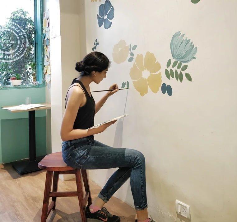 Akrilik boya ile duvar boyanır mı
