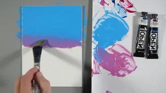 akrilik boya nasıl yapılır