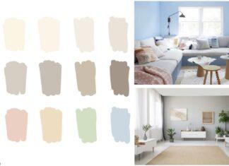 evi aydınlık gösteren boya rengi