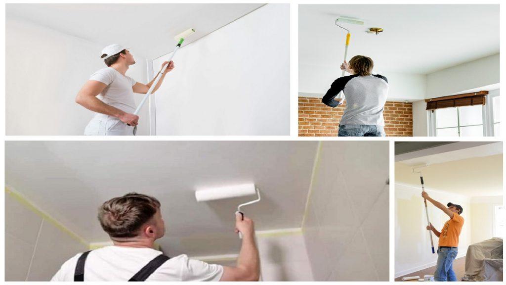tavan boyama teknikleri