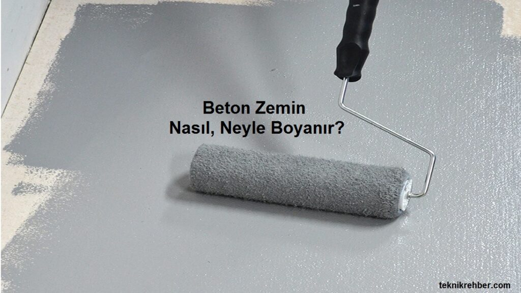 beton boyama