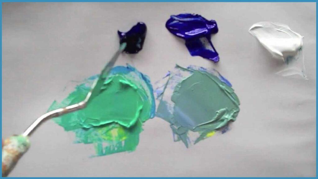 turkuaz rengi nasıl yapılır
