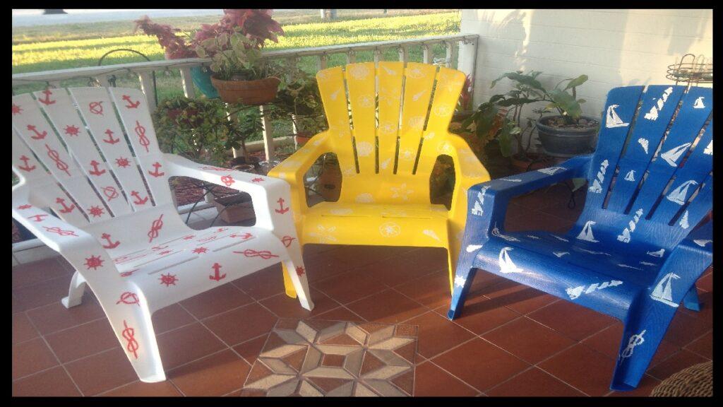 Akrilik boya ile plastik sandalye boyanır mı