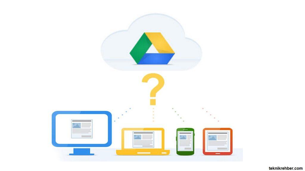 google drive nasıl kullanılır
