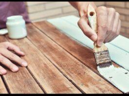 bahçe mobilyası boyanır mı