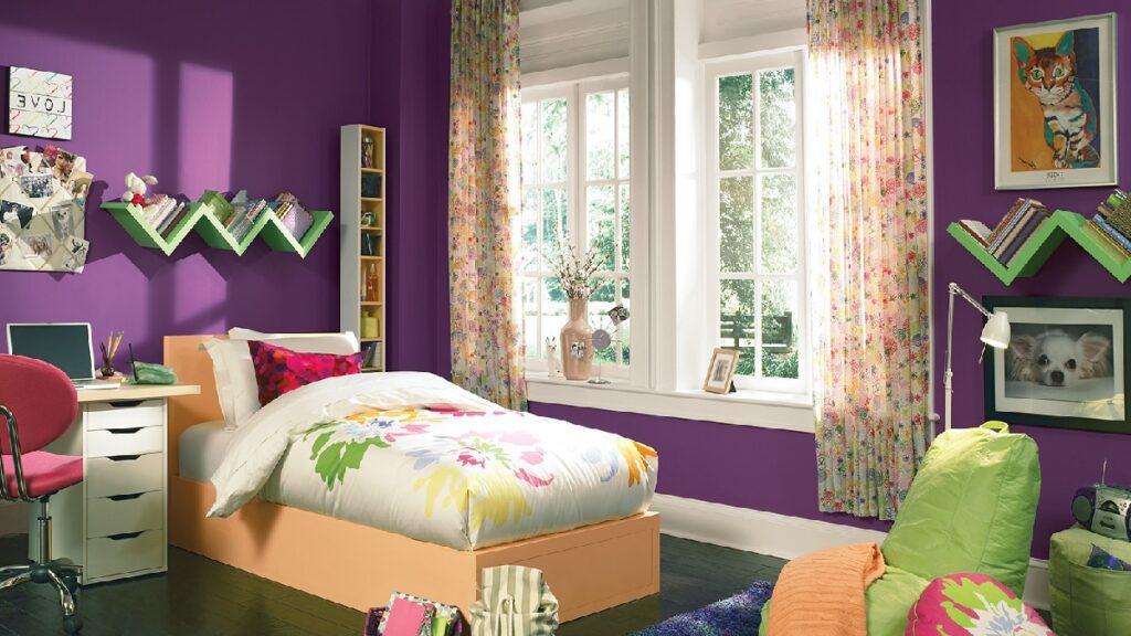 çoçuk odası boya rengi