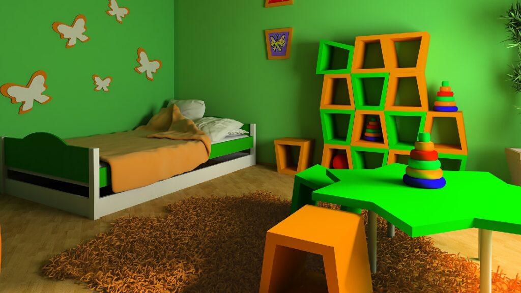 çoçuk odası duvar renkleri